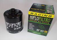 HIFLO FILTRO OLIO HF303 RC RACING PER KAWASAKI KLE650 Versys 2008 2009 2010