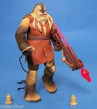 STAR WARS ROTS LOOSE ULTRA RARE WOOKIEE HEAVY GUNNER MINT CONDITION. C-10+