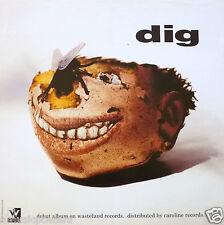 "DIG ""DEBUT ALBUM"" U.S. PROMO POSTER - Grunge, Alternative Rock, Shoegaze Music"