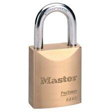 MASTER LOCK PRO SERIES 6840 LOCK WITH 2 KEYS CUT/PICK/PRY RESISTANT 6840D