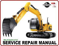 JCB JS200 JS210 JS220 JS240 JS260 Tracked Excavator Service Repair Manual CD