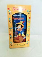 PINOCCHIO BURGER KING PLASTIC GLASS,ORIGINAL BOX, DISNEY COLLECTOR SERIES 1994
