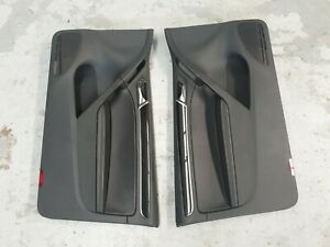 Volkswagen VW Golf GTi Mk6 3dr Hatch Leather Front door trim trims cards NOR5