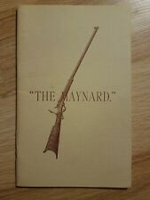 Vintage 1880 Maynard Breech Loading Firearms Catalog - Repro?