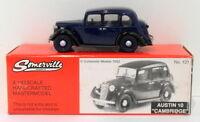Somerville Models 1/43 Scale 131 - Austin 10 Cambridge - Dark Blue