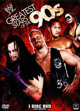 WWE GREATEST STARS OF THE 90'S DVD 3 DISC SET NEW STILL SEALED
