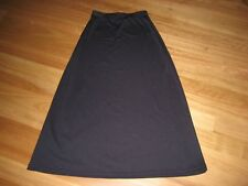 LADIES LOVELY BLUE POLYESTER STRAIGHT SKIRT BY CROSSROADS- SIZE 10