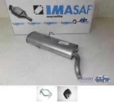 Imasaf Escape Silenciador + Adjuntos Peugeot 309 II Schrägh. 1.9 Gti 16v 116Kw