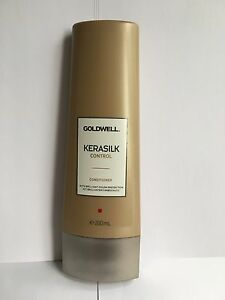 GOLDWELL KERASILK CONTROL CONDITIONER (WITH BRILLIANT COLOR PROTECTION) 200ML
