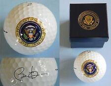 Barack Obama Presidential Seal White House gift Golf ball Authentic