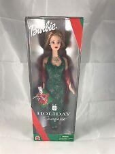 Mattel 2000 Holiday Surprise Barbie Green Box 27290 NRFB