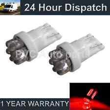 2 x W5W T10 501 Xenon rot 7 DOME LED Standlicht Standlichtbirnen HID sl100406