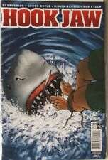 Titan Comics Hook Jaw Issue #4.  Cover A.  Great White Shark storyline