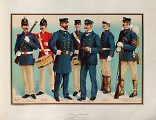 Us navy uniforme officier Musician us marines caporal rifle rythmique boutons Capot