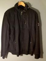 Polo Ralph Lauren Mens Full Zip Multi Pocket Bomber Jacket Black Size Large
