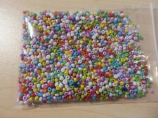2-3mm  Seed Beads - Pastel Mixed aprox 1,700 pcs (50g) FREE POSTAGE - AUS SELLER