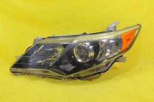 🛎️ 12 13 14 Toyota Camry SE Left LH Driver Headlight OEM *1 TAB DAMAGED*
