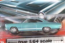 MERCURY COMET CYCLONE 1966 BLUE AUTOWORLD AW64012 1:64 NEW DIECAST MODEL