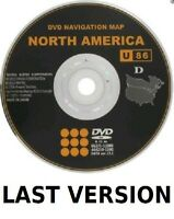 NEW LAST VERSION 2014 Toyota U86 GENX5 North America Navigation DVD 13.1 GPS MAP