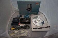 BRAND NEW Canon Powershot SD990IS Digital ELPH Camera (BLACK)