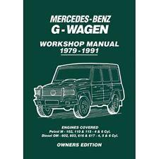 Mercedes-Benz G-Wagen Owners Workshop Manual 1979-1991  book paper