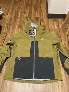 Nike ACG Gore-Tex Misery Ridge Jacket Brown Hoodie Waterproof CV0634-216 Mens XL