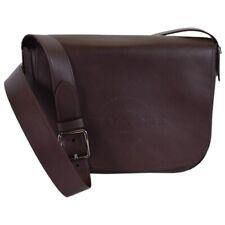 Coach Men's F86778 Oxblood Brown Natural Leather Hudson Messenger Bag MSRP- $495