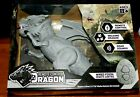 Remote Control Dragon Cool Gray Ages 8+ Walking Roar Sound Wired Fossil Remote