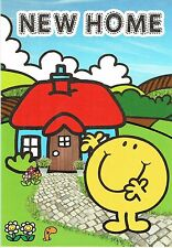 NEW HOME Card - from the official Mr Men Collection Mr Happy, House Warming