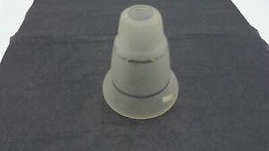 ANNEES 50/60 TULIPE EN VERRE DEPOLI POUR LUSTRE LAMPE REF  TUL040