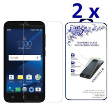 2-Pack For Alcatel Ideal Xcite 4G Lte (5044R) Tempered Glass Screen Protector