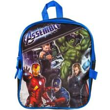 Avengers Assemble Marvel School Gift Pack Book Bag Tote Backpack w/Lunch Bag