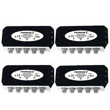 4x DiseqC Schalter 4/1 Umschalter Switch Diseq DVB-S2 FULLHD 3D Digital 4x1 TOP