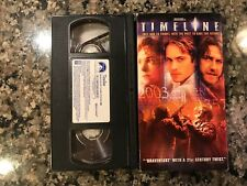 Timeline Vhs! 2003 Sci-Fi! (See) Eliminators The Time Machine & Congo