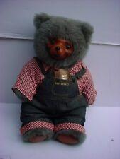Robert Raikes Signed Huckle Bear 1985 Robert Raikes First Set New In Box