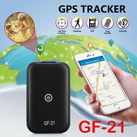 GF-21 Mini Voice Activated Recorder GPS Tracker Audio Recording Device WIFI/GSM