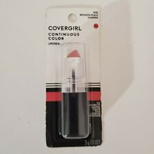 015 Bronzed Peach Shimmer CoverGirl Continuous Color Lipstick