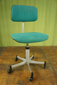 Vintage Office Chair Swivel Chair Desk Chair Architects Stoll Giro 70er