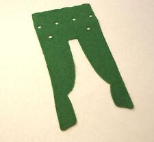 Playmobil 5305 5300 Victorian mansion drapes curtain Green