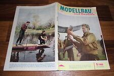 MODELLBAU und BASTELN  # 9/1960 -- Zeitschrift für DDR Heimwerker / Geburtstag ?
