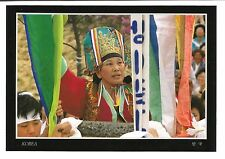 Korea Postcard A Korean mudang performing a kut ritual People