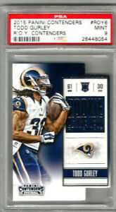 2015 Panini Contenders Todd Gurley Roy Contenders - PSA 9