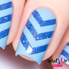 Chevron nail tape for nail art, chevron stickers for nails, nail vinyls
