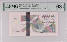Algeria 500 Dinars 2018 P NEW Superb Gem UNC PMG 68 EPQ HIGH