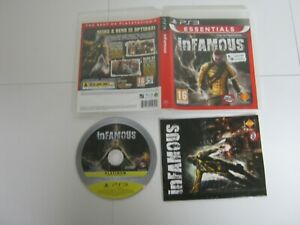 PS3 PlayStation Pal ESSENTIALS INFAMOUS 189