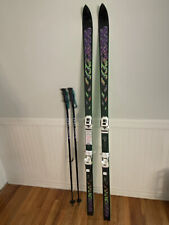 K2 5500 7.8 Usa 185Cm Skis With Leki Poles