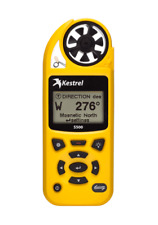 Kestrel 5500 Weather Meter with Link & Vane Mount (Yellow) | 5 Year Guarantee