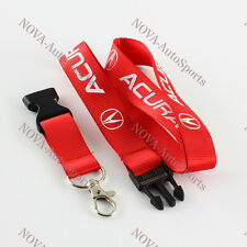 For Acura Lanyard JDM Keychain Quick Release RSX NSX RDX TSX TL INTEGRA - Red