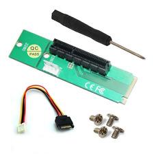 PCI-e 1X/4X Card to NGFF M.2 M Key PCIe Slot Adapter