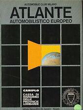 ATLANTE AUTOMOBILISTICO EUROPEO - AUTOMOBIL CLUB MILANO 1977